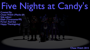Five Nights at Candy's Cast by AlexRLatin24