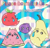 Please Don't Eat Us by pange