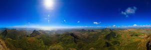On the roof of mauritius by Ryancy