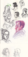 Observational Face Sketches by ArtistsBlood