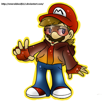 just mario by MariobrosYaoiFan12