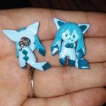 Glaceon Earrings by Micrackin