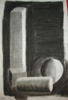 charcoal still life by android272