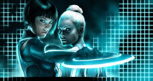 Tron Legacy's Ladies by sscindyss