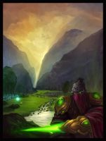 Zeratul in Agria Valley by gizmodus