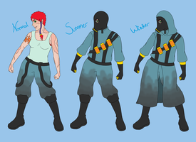 Emmely Getup Bodies COLORED by Undead-Potatoes