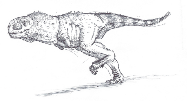 Aucasaurus by The---Other---One