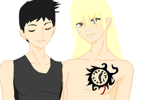 Jetly and Tannen by sonicnshadow321