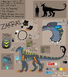 Zakrai Reference Sheet by Red-Dragon-Blaze