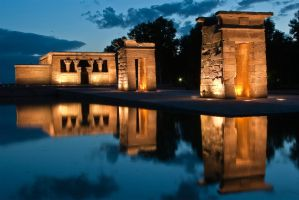 Debod Temple 1 by Dhaundre
