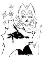 scarlet witch again by spushan