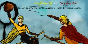 Jaime Brienne Quidditch by guad