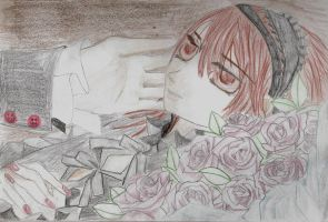Yuki and Roses by The-Nun