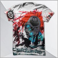 Celldweller - Klaybot (All-Over Print) T-Shirt by wonderKat1