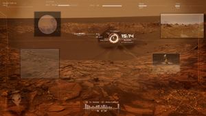 Mars Rainmeter by Thyrring