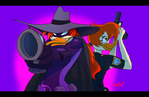 Darkwing Double Team by PumpkinHipHop