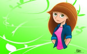 Kim Possible 'Spring breeze' - Wallpaper by DrakebyRS