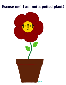 Potted Plant Chris Wallace by RacheyraE