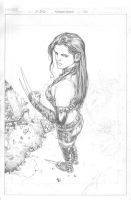 X-23 Again - WIP 3 by edtadeo