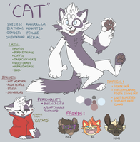 Cat Reference by Catatouillee