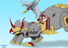 Dinobot Princess by suzie-chan