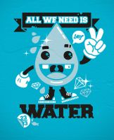 All we need is WATER by dracoimagem-com