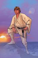 Luke Skywalker by WillSliney