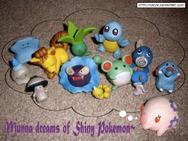 Munna dreams of Shiny Pokemon by HeyLookASign