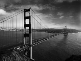 golden gate by VaggelisFragiadakis