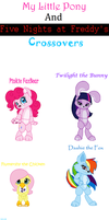 MLP and FNAF Crossovers by TheAnthroPony