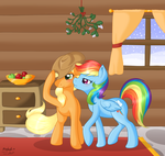 Merry Christmas Collab by RatofDrawn
