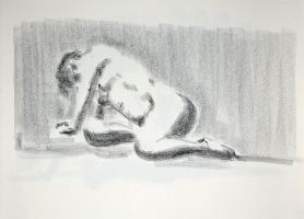 Reclining figure by GGdraw