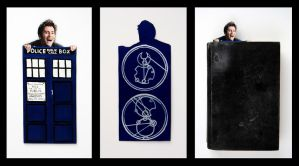 Doctor Who Bookmark by KayNyman