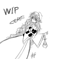 Ceres WIP by AyanoHoshi