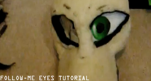 Fursuit Follow-me Eyes Tutorial by Tsebresos