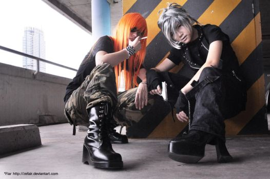 Cosplay - DOGs by zefiar