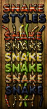 Snake styles by sonarpos