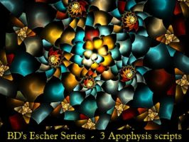 BDs Escher Series by Fractal-Resources