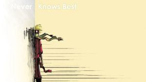 Never Knows Best by Bazzelwaki