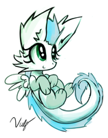 Baby Patch Sketch by Vulpessentia