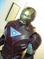 iron man close up by TIMECON