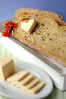 Basil Feta and Garlic Bread 1 by bittykate