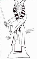 SW-Shaak Ti by Chibi-Angelwolf-chan