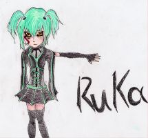 Dark Signer Ruka by all-natural-me