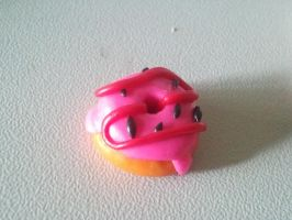 fimo: Doughnut by Kittychen226