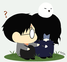 HP : ANGST SNAPE by Aoeiya