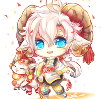 Happy Chinese New year (Ram 2015) by Evil-usagi