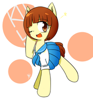 [Request]Mankanshoku Mako Pony.ver by ranban