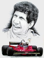 Jody Scheckter Tribute by machoart