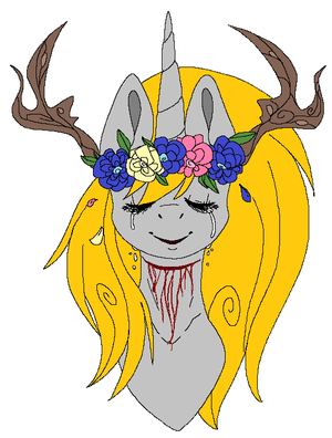 Flower Crown by CleanCut-The-Pony